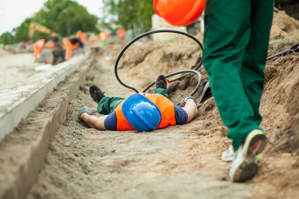 wypadek ubezpieczenie firmy budowlanej